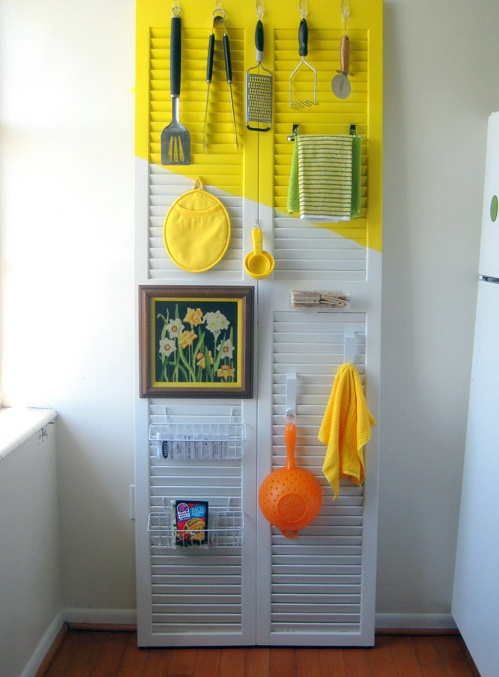 an old door can make a bold statement!