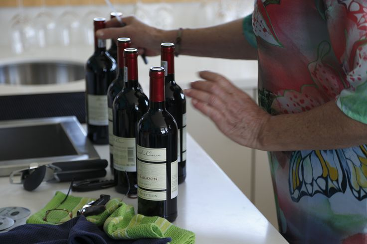 We are well known for our wines of course - which we also served at our events.