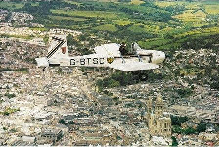 Do you love aeroplanes and engineering? Plane built by Truro school children 30-years-ago set for exhibition on Lemon Quay.