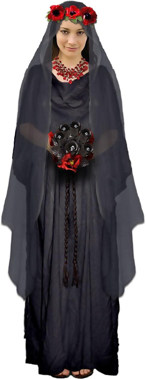 Halloween Costume: Persephone, Queen of the Underworld.