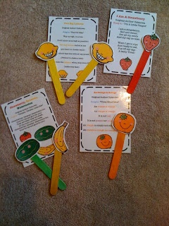 fruit songs printables