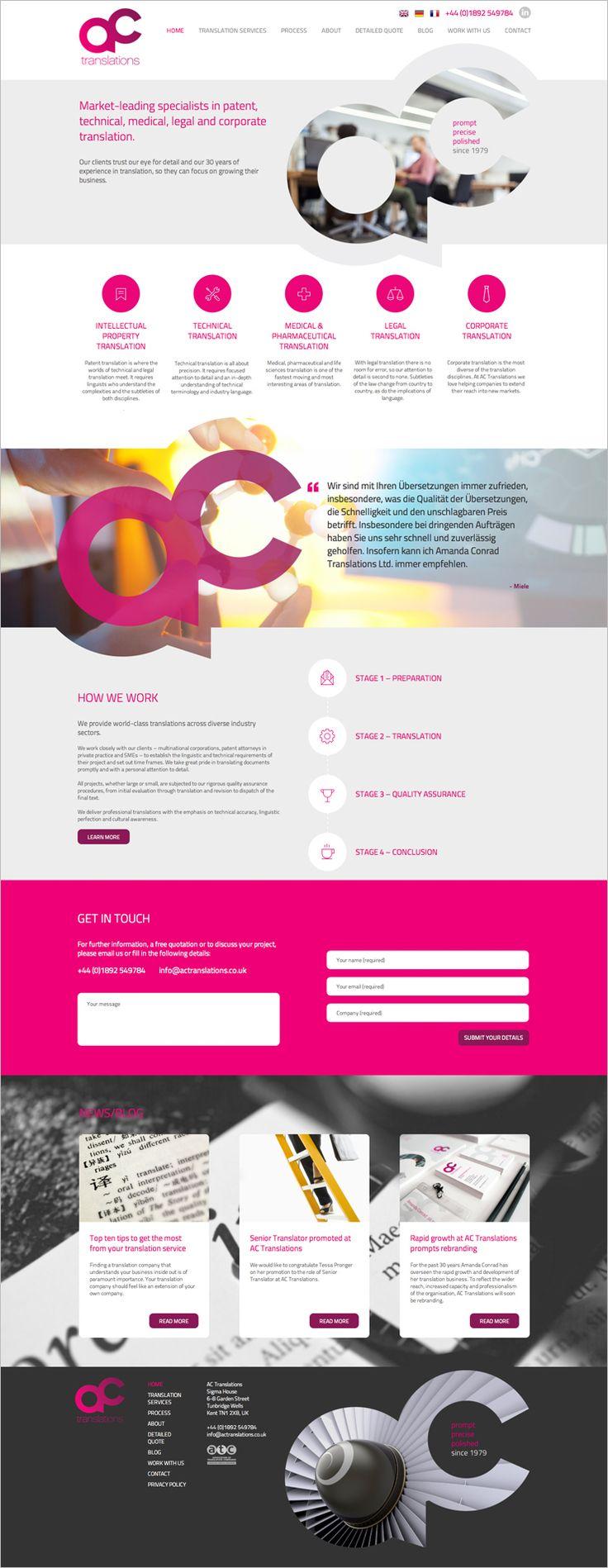 Cool Web Design, ac translations. #webdesign #webdevelopment [http://www.pinterest.com/alfredchong/]