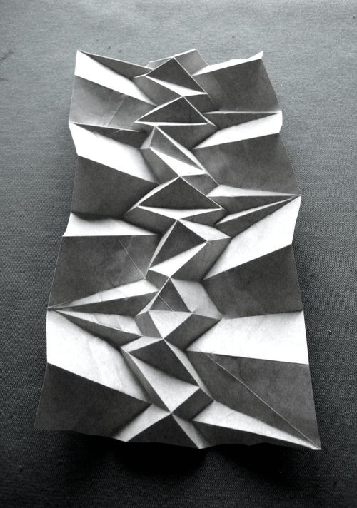 paper folding by Andrea Russo