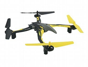 The radio controlled Dromida Ominus RTF Radio Control Quadcopter In Yellow operates on a 2.4GHz frequency and arrives ready assembled, totally finished and equipped with everything you need in one box to get you in the air!!