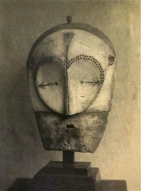 Mask (fang helmet), 1930s. Man Ray Trust