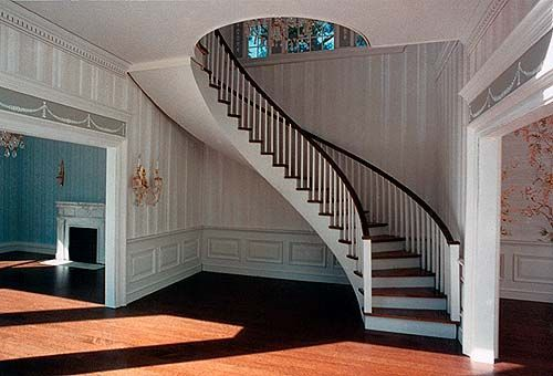 dollhouse curved staircase - Google Search