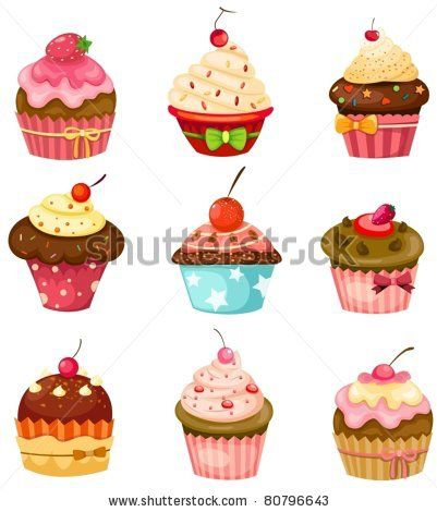 Image from http://image.shutterstock.com/display_pic_with_logo/553351/553351,1310390327,52/stock-vector-illustration-of-isolated-set-of-cupcake-on-white-80796643.jpg.