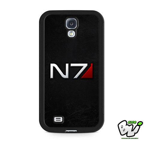 Metal Carbon Mass Effect N7 Samsung Galaxy S4 Case