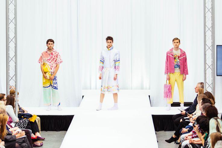 Lana Alldritt Textiles for Fashion, Colour, menswear, male models, Print, Printed, digital print. Gray's School of Art, RGU, Robert Gordon University, Fashandtexatg