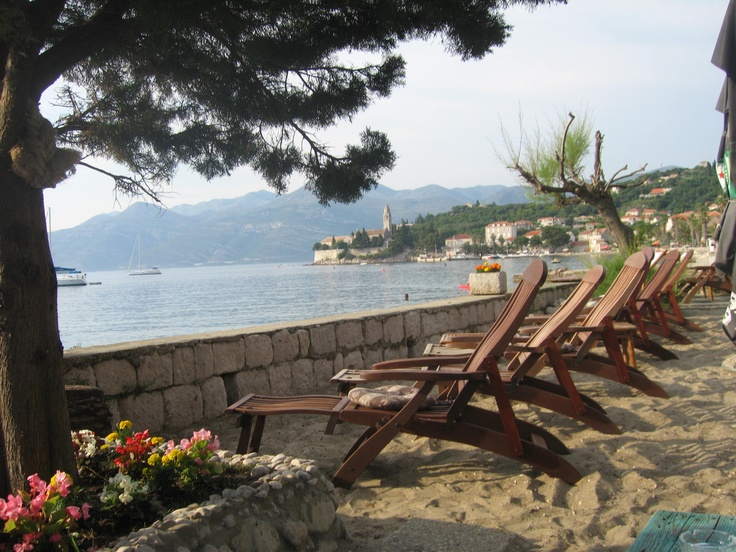 A view from our beach right outside of our boutique hotel.  Spent many wonderful afternoons here.