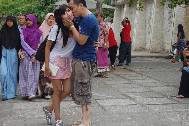 A Kiss at GWK, Garuda Wisnu Kencana, Bali