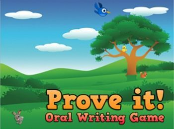 Whole Brain Teaching Prove it! Oral Writing Game to help students use EVIDENCE to support an argument.