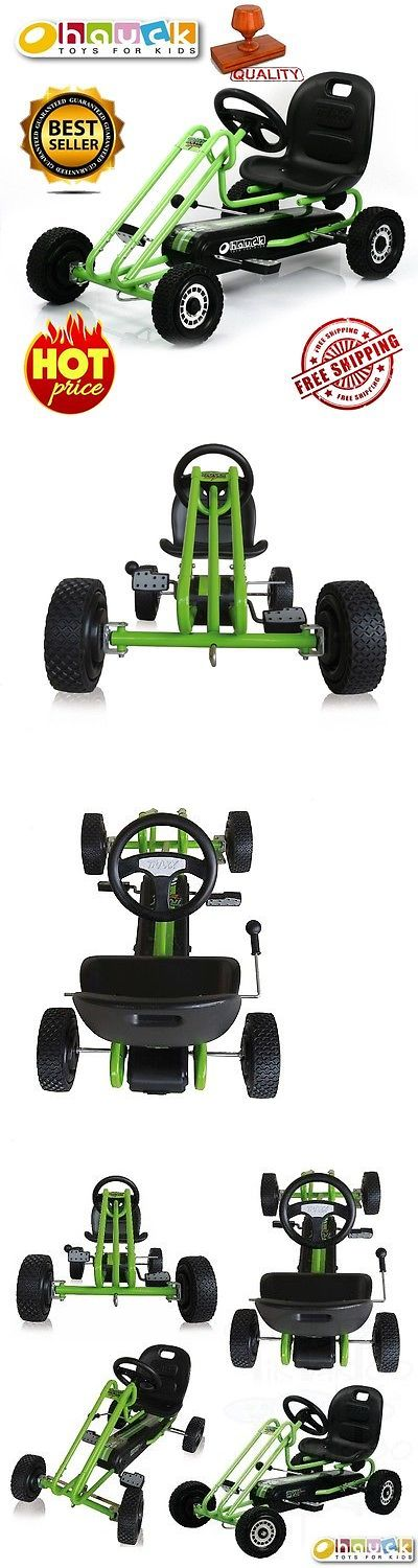 Complete Go-Karts and Frames 64656: Ride On Go Kart Hauck Pedal Car Kids Outdoor Junior Toy Racing Steel Go Kart New -> BUY IT NOW ONLY: $129.9 on eBay!