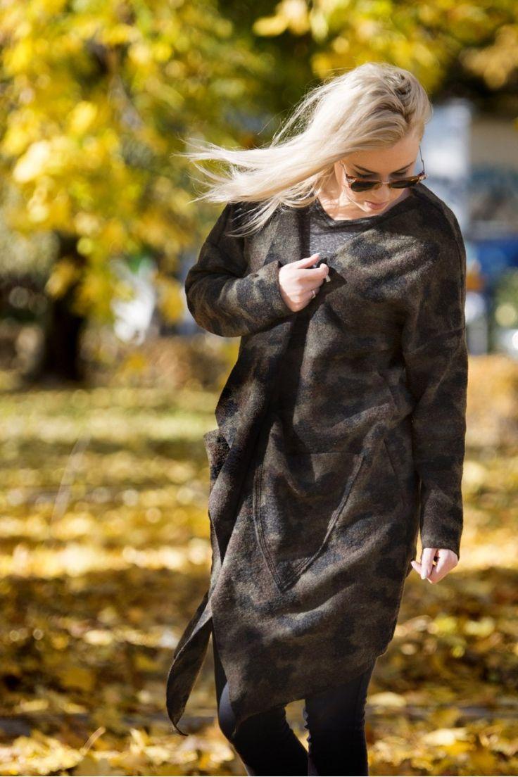 CAMO płaszcz / sweter