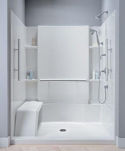 sterling shower stalls like a part of kohler products