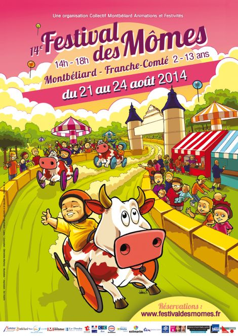 Festival des Mômes. Du 21 au 24 août 2014 à montbeliard.