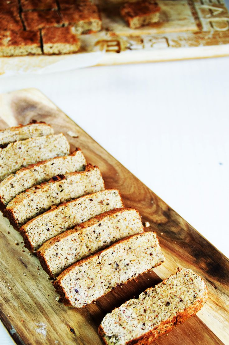 Almond Loaf Pan| Gluten-Free|Wheat-Free|Grain-Free