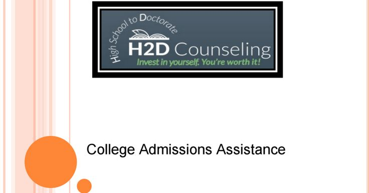 Need college admissions assistance? Visit https://h2dcounseling.com/educational-consulting-services/ to get in touch with some of finest consultants ever.