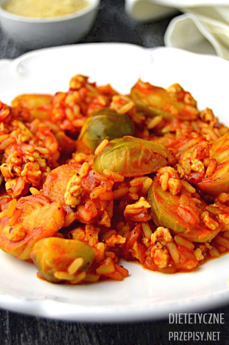 Super proste brukselki w pomidorach a la gołąbki bez zawijania