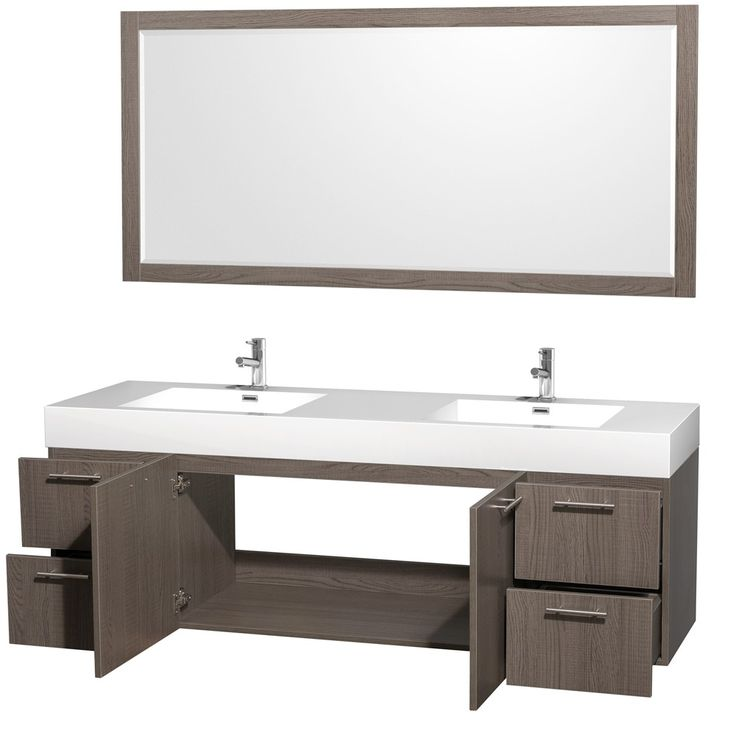 Awesome 52 Bathroom Vanity Cabinet