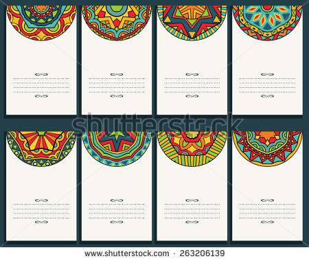 47 best mexican images on pinterest mexican fiesta party set of 8 cards with mexican ornaments collection of banners with bright ethnic patterns template for greeting card invitation or poster vector file is stopboris Images