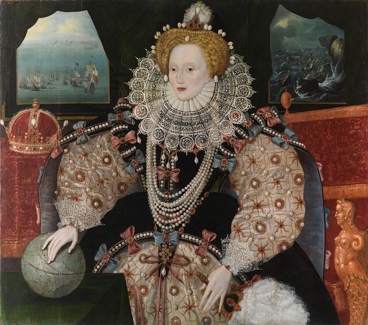 Elizabeth I reigned as queen of England from 1558 to 1603