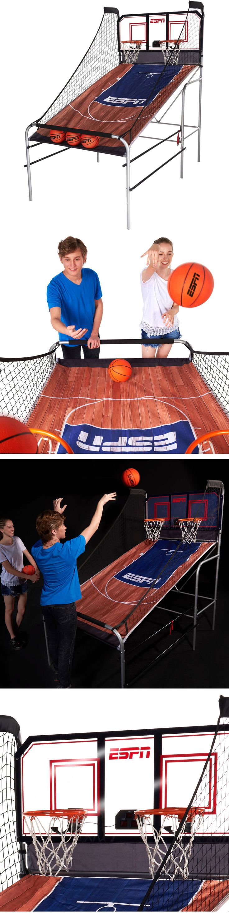 Other Indoor Games 36278: Espn 2 Player Basketball Game With Authentic Pc Backboard Led Scorer Sound New -> BUY IT NOW ONLY: $172.88 on eBay!