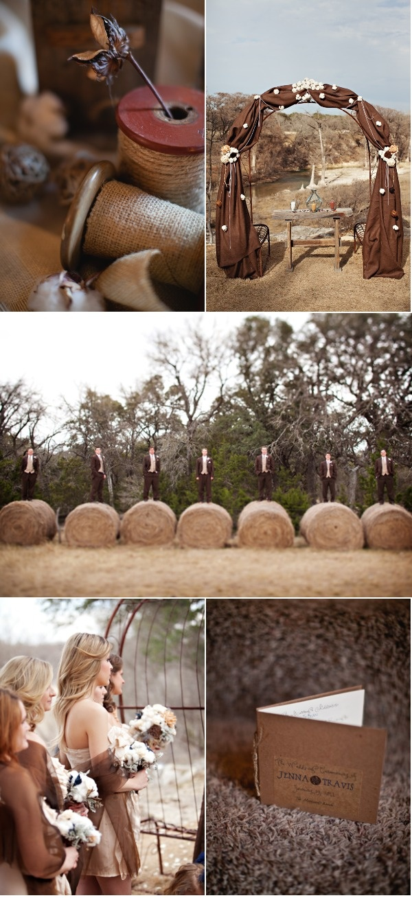 Texas Hill Country Wedding by Aric + Casey Photography | Style Me Pretty