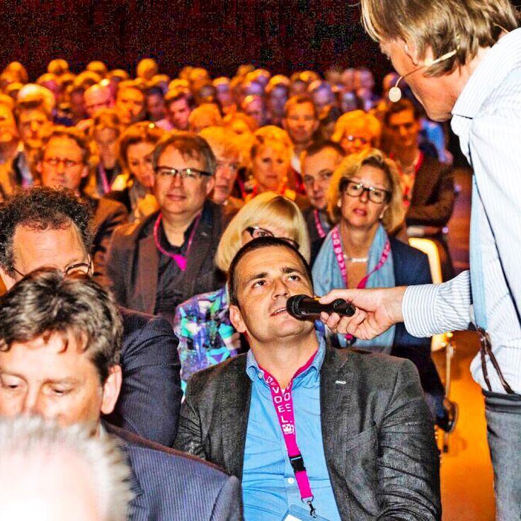 'En hoe gaat het bij u in de makelaardij ' aldus Jort Kelder tijdens het NVM jaarcongres okt 2014