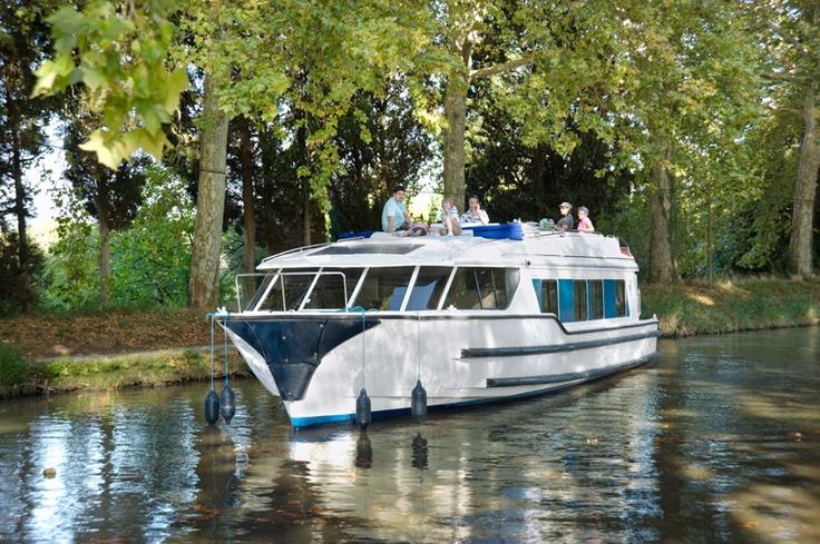 Le Vision sobre el Canal du Midi