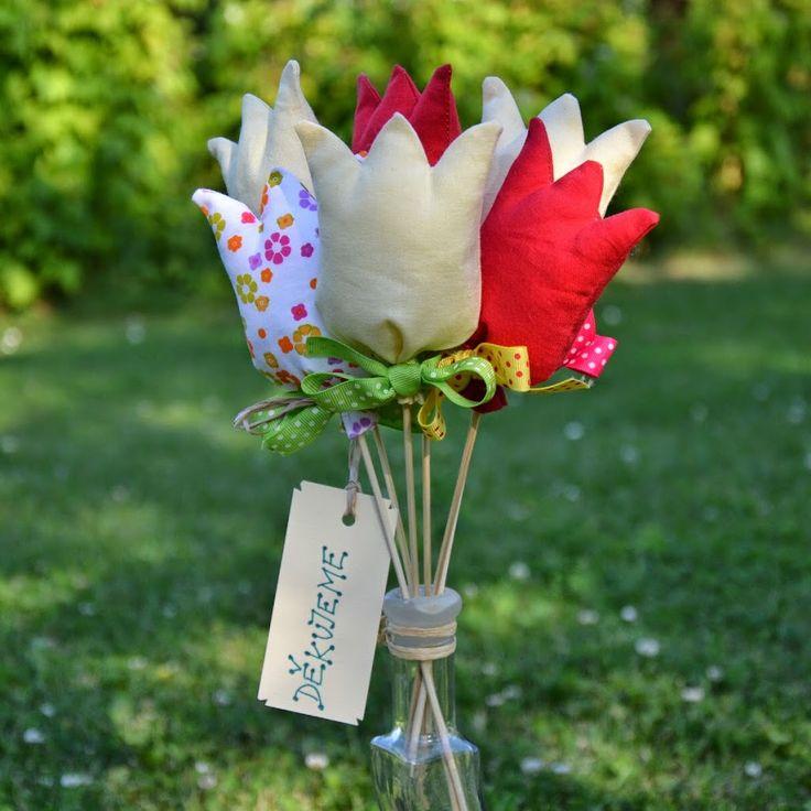 Šitý tulipán – pro radost i poděkování | Šijte s námi | mamas