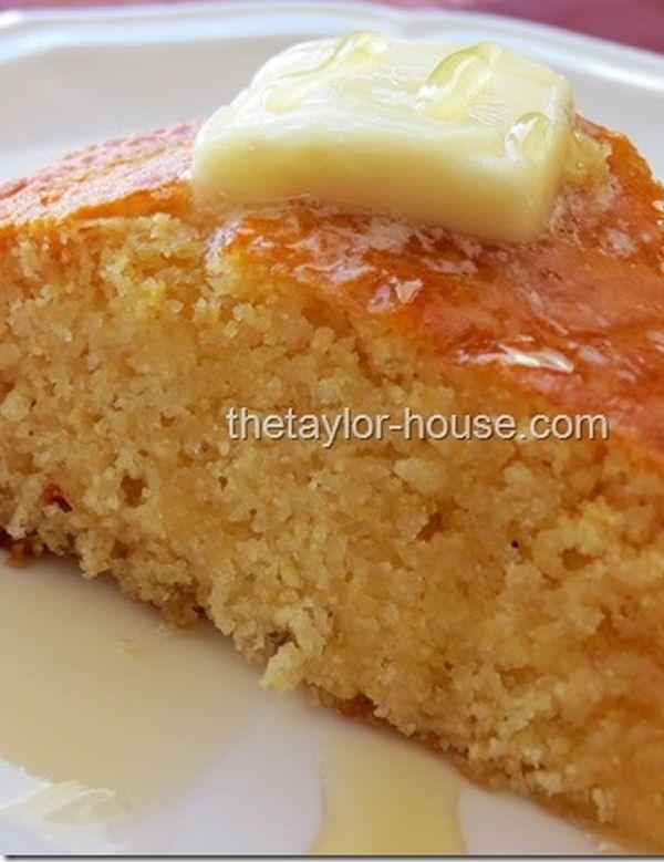 Sweet Honey Corn Bread - My Honeys Place