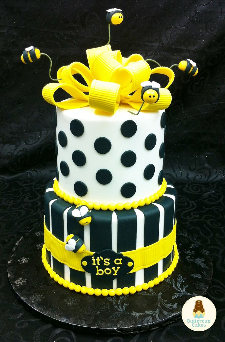 bumble bee baby shower cake baby celebration pinterest
