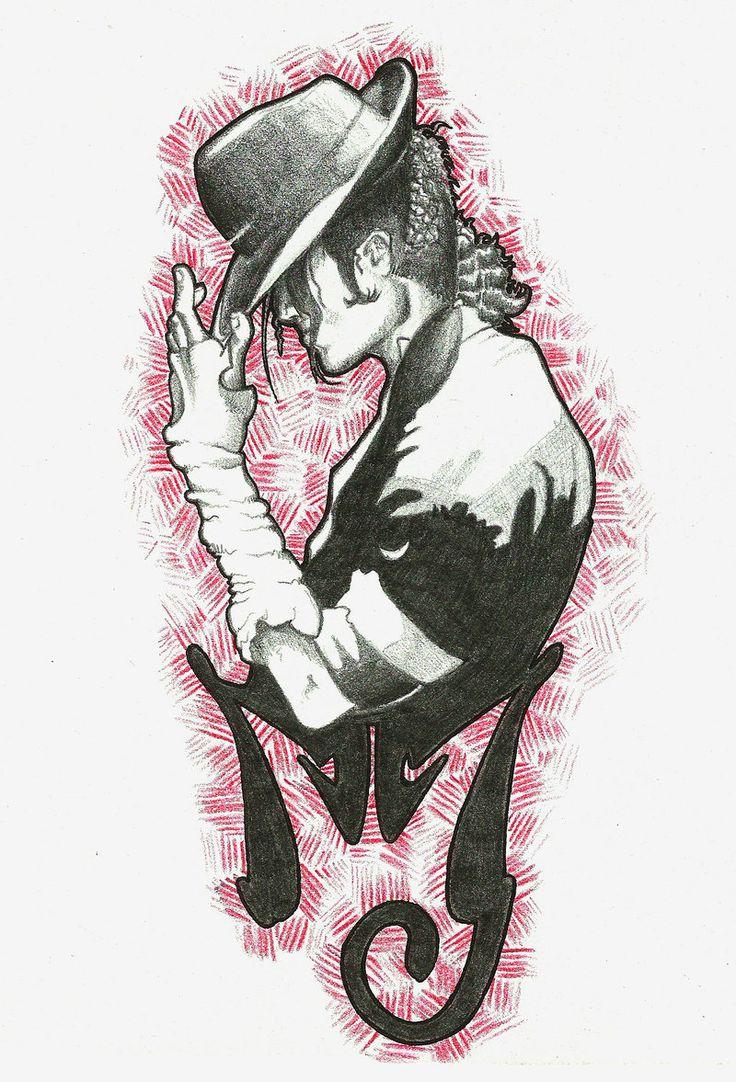 MJ tattoo by FieryGabreilla.deviantart.com on @deviantART - I think I just found my tattoo :)