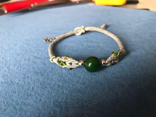 简单的单珠手链