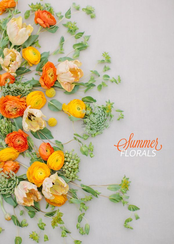Sweet Summer Florals by Janie Medley Ruffled