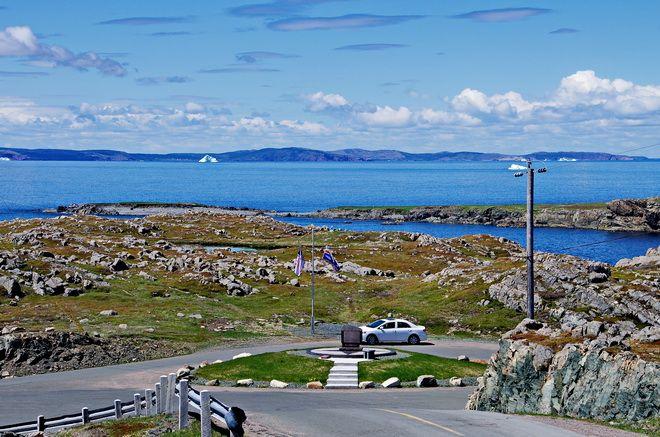 Rock as far as the you can see at the end of the Bonavista Peninsula, Newfoundland