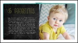 babybooktemplate: Babies, Book Ideas, Babybook, Chalkboards Baby, Baby Books, Chalkboard Baby, Book Templates, Hanna Mac, Photo Book