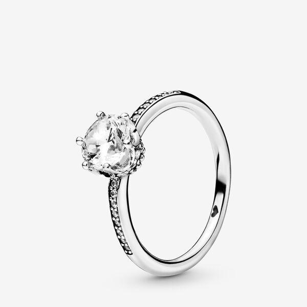 Anello Corona Scintillante | Bague couronne, Bague pandora, Bague