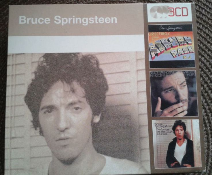 Bruce Sprinsteen - 3 CD set - nowy - unikat