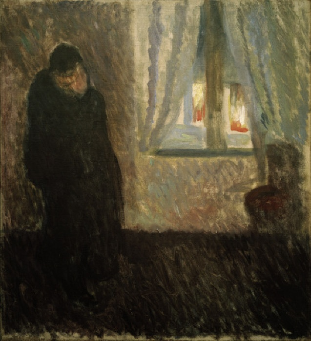2-M170-L1-1892-2 (636558) 'Der Kuss' Munch, Edvard 1863-1944. 'Der Kuss', 1892. Öl auf Leinwand, 71,5 x 64,5 cm. Inv.Nr. MM M 622 Oslo, Munch-Museet. E: 'The Kiss' Munch, Edvard 1863-1944. 'The Kiss', 1892. Oil on canvas, 71.5 x 64.5cm. Inv.No. MM M 622 Oslo, Munch-Museet. F: 'Le baiser' Munch, Edvard ; 1863-1944. 'Le baiser', 1892. Huile sur toile, H. 0,71 ; L. 0,64. Inv.Nr. MM M 622 Oslo, Munch-Museet. MONDADORI PORTFOLIO/AKG Images