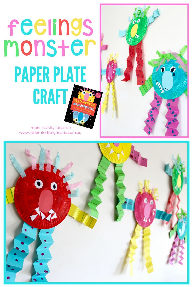 feelings and emotions craft ideas | toddler and kindergarten craft