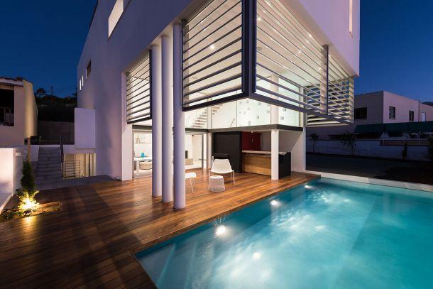 Κατοικία με βιοκλιματικά κριτήρια στην Έγκωμη Λευκωσίας Αγησιλάου & Καλαβάς / Αρχιτεκτονικό Εργαστήρι