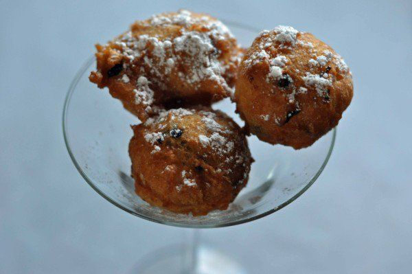 Denny's Blueberry and White Chocolate Pancake Puppies