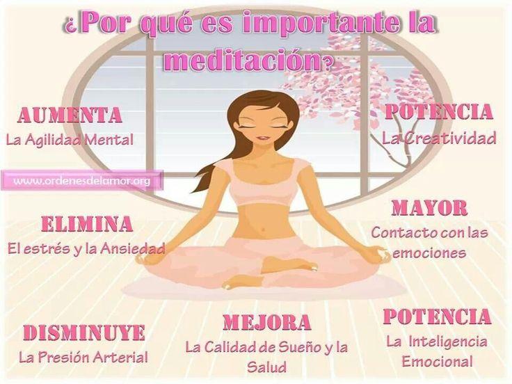 Ventajas de la #meditacion
