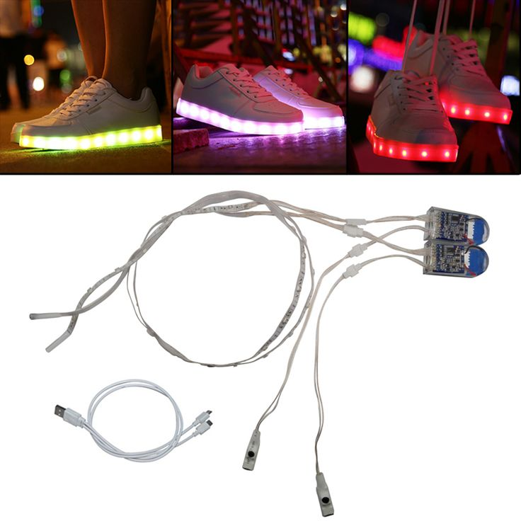 Find More LED Strips Information about Led Shoes Strip Light USB Charge SMD3528 60CM 24led For DIY Stage Customes Event u0026 Party Supplies LED Shoe Lighting ...  sc 1 st  Pinterest & 119 best Daily Lighting images on Pinterest | Information about ... azcodes.com