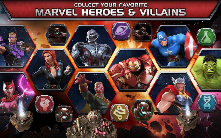 Marvel contests of Champions is an anime game in the app store and it's more like a cartoon game. You may be known to the story mode, where you have three leading acts that are distributed into chapters, and each part is separated into stages. Each and every stage boss needs to be vanquished, if you want to go to the next stage to be revealed. However, you don't have to fully look for the area to open the next stage, just defeat the boss and that's enough.