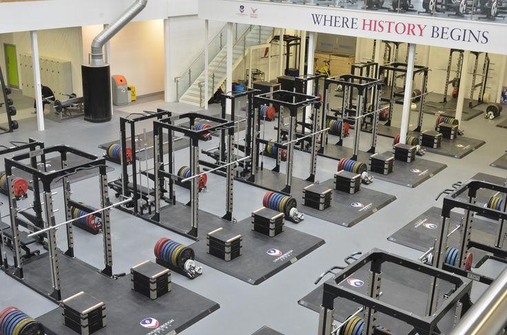 ESP Fitness Racks, Training Blocks and Lifting Platforms at Powerbase Gym, Loughborough University