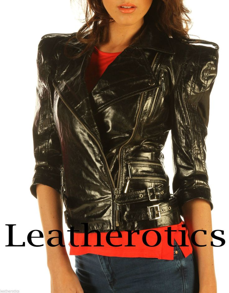 Leatherotics UK - Ladies Leather Jacket Waist Length Top Trendy Detailed Zipper JC57, � 166.80 (https://www.leatherotics.co.uk/leather-jackets/ladies-leather-jacket-waist-length-top-trendy-detailed-zipper-jc57/)