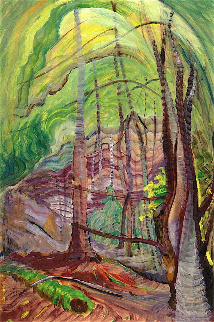 Undergrowth, 1941. Emily Carr